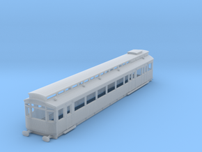 O-148-ner-petrol-electric-railcar in Smooth Fine Detail Plastic