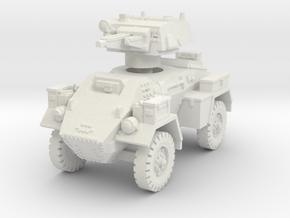 Fox Armoured Car 1/76 in White Natural Versatile Plastic
