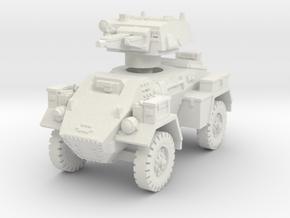 Fox Armoured Car 1/72 in White Natural Versatile Plastic