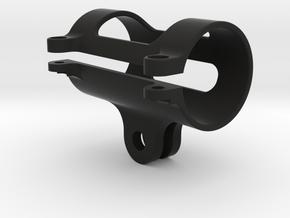 Flashlight GoPro Mount 22mm in Black Natural Versatile Plastic