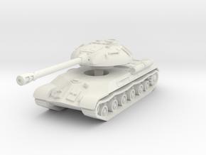 IS-3 Tank 1/72 in White Natural Versatile Plastic