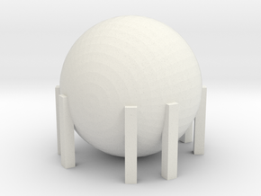 Natural Gas Tank 1/144 in White Natural Versatile Plastic
