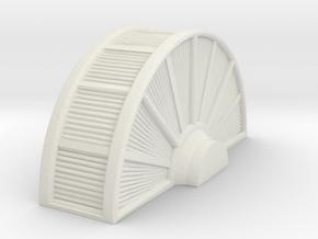 Industrial Turbine 1/48 in White Natural Versatile Plastic