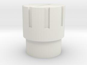 GearPressSLDPRT in White Natural Versatile Plastic