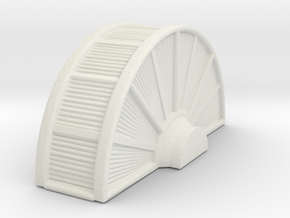 Industrial Turbine 1/160 in White Natural Versatile Plastic