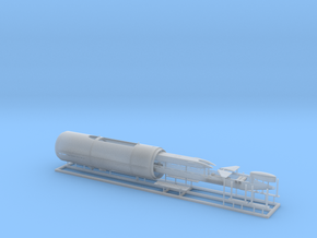 USS Parche SSN-683 Special Ops version 1/350 scale in Smooth Fine Detail Plastic