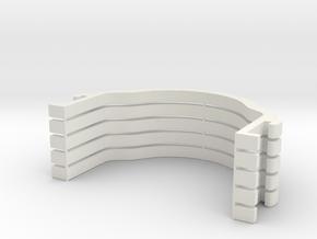 Body clamp for mini-z 52mm x5 in White Natural Versatile Plastic