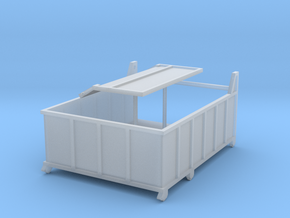Abrollcontainer DDR in Smooth Fine Detail Plastic