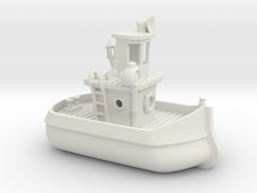 Upgraded Benchy in White Natural Versatile Plastic