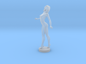 Sexy Nude Lady in Smooth Fine Detail Plastic