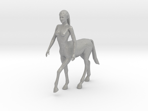 Beautiful Female Centaur in Aluminum