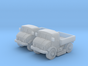 1/144 scale Unimog truck in Smooth Fine Detail Plastic