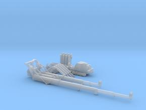 1:50 Mini Crawler Crane Set C kit in Smooth Fine Detail Plastic