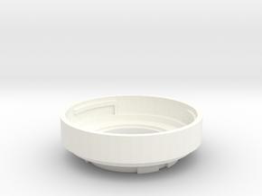 M43 To Pentax Q Adapter in White Processed Versatile Plastic
