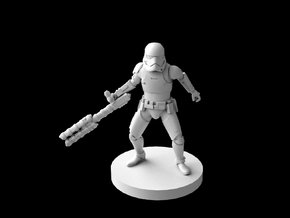 (IA) First Order Riot Stormtrooper in Smooth Fine Detail Plastic