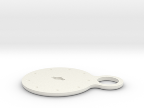 Hearing Aid Battery Case Part 4/5 in White Natural Versatile Plastic