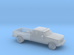 1/87 1994 Ford F-Series Dually in Smooth Fine Detail Plastic