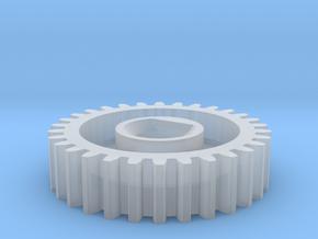 Commutator Motor Gear in Smoothest Fine Detail Plastic