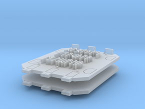 Runic Jericho tank doors #1 in Smooth Fine Detail Plastic