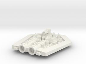 PH307 Yaraktunar Carrier in White Natural Versatile Plastic