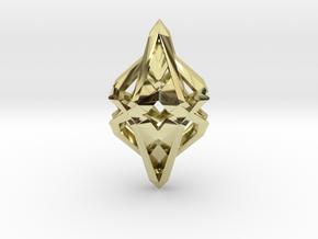 HEART TO HEART Intense, Pendant in 18k Gold