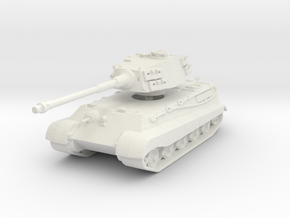 Tiger II H (skirts) 1/144 in White Natural Versatile Plastic