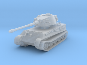 Tiger II H (no Skirts) 1/220 in Smooth Fine Detail Plastic