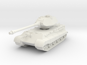 Tiger II P (Skirts) 1/100 in White Natural Versatile Plastic