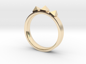 Edwardian Crown Ring - Sz. 6 in 14K Gold