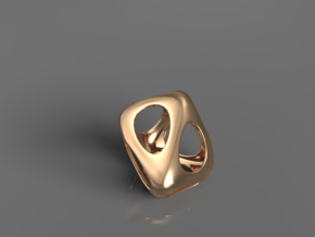 Pendant 01 in Polished Bronze