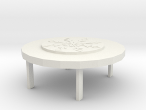 Ice and snow world(table) in White Natural Versatile Plastic