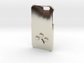 phone case in 14k White Gold