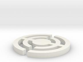 杯墊 in White Natural Versatile Plastic
