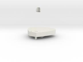 boss meet table in White Natural Versatile Plastic: Medium