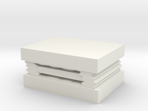 Sandwich sleeping bag in White Natural Versatile Plastic