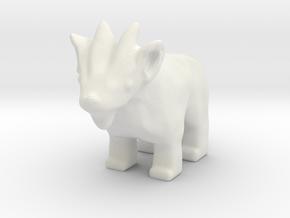 Chibi Goat in White Natural Versatile Plastic
