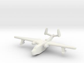 US Martin PBM5 Mariner seaplane bomber 1:600 WW2 in White Natural Versatile Plastic