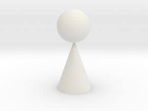 geometric in White Natural Versatile Plastic
