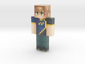 RapidPixels | Minecraft toy in Glossy Full Color Sandstone