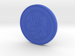 RFCINCo Collectibles - First Gen. Series Coin in Blue Processed Versatile Plastic