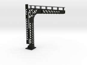 C&O Standard Cantilevered Signal Bridge in Black Premium Versatile Plastic