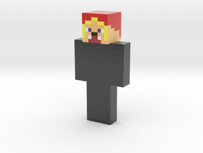 Skin_Output1577509087165 | Minecraft toy in Glossy Full Color Sandstone