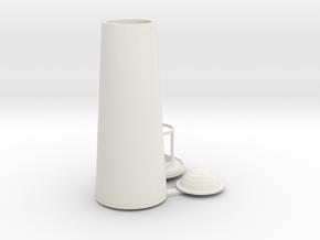 vuurtoren, lighthouse in White Natural Versatile Plastic