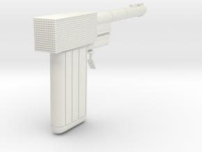 James Bond Golden Gun 1 Piece in White Natural Versatile Plastic