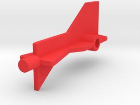 Neon Orbiter Rear Stabilizer in Red Processed Versatile Plastic