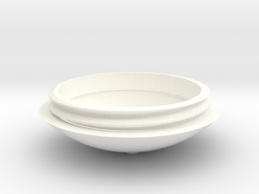 birdhouse drop bottom part in White Processed Versatile Plastic
