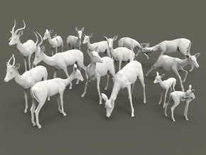 Impala Set 1:160 fourteen different pieces in Smooth Fine Detail Plastic