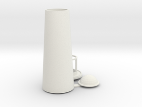 vuurtoren shape 160 in White Natural Versatile Plastic