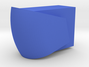 JOKE MACHINE SDF-1 CANOPY [PART BC-2/R-2] in Blue Processed Versatile Plastic