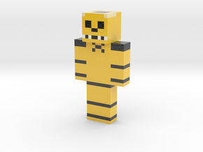 2018_09_16_golden-freedy-12474704 | Minecraft toy in Glossy Full Color Sandstone